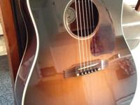 This is my Gibson J45 Acoustic Guitar. I am the
