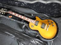 This guitar (late 90's) was harmed and restored from an