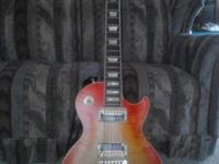 2005 gibson les paul standard faded cherry sunburst.