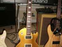 2004 Gibson Les Paul Standard Gold Top , non chambered