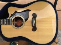 Great guitar it is in good condition and the only