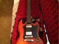 This is a gibson SG faded special that ive had for a