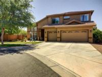 Gorgeous home on Cul de sac lot next to walking trails.