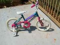 Hi, I have a nice girls bicycle for sale that has only
