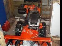 Gilson snowblower classifieds buy sell gilson snowblower across good running gilson snowblower electric start works ccuart Images