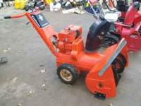THIS UNIT RUNS WELL LOOKS GREAT HAS B&S ENGINE ITS A