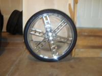 "Description Four Giovanna Pegs 26"" Rims Nitrogen Filled"