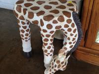 Giraffe Side Table, End Table, Plant Stand ... You
