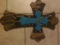 I have these two crosses available. They measure 24""
