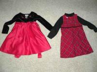 For Sale - 2 Girl 4T dresses. The clothes come from a