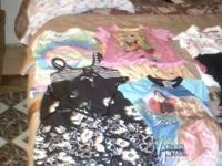 Girls clothing variety, new and barely used. Sizes in