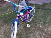 Girls 20in bike, great condition only a few marks on