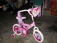 Girls 12 inch Princess bike. This bike is in MINT
