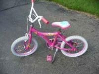 "Disney ""Princess"" girl's 16"" bike. Decent condition,"