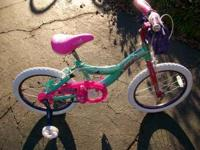 "THIS IS A ( NEVER USED ) 18"" HUFFY RAZZLE GIRLS SOLD"