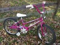 "I have a girl's 20"" Giant bicycle for sale. Very nice"