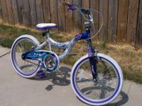 "Girl's 20"" Next ?Tropical Splash? Bicycle. Used. As Is,"