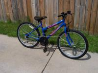 Girl?s 24? RoadMaster ?Mt Fury? MTB 15 Speed Bicycle.