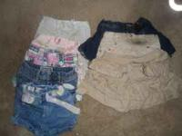 This Lot Has 1 Outfit 3 Skirts 5 Shorts 4 Jeans Text