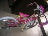 selling the new bike for girl,pink color. $60 Used Road