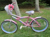 ***** Girl's Bike Peppermint Swirl Kent Cad Design ,
