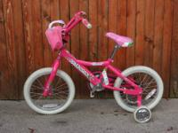 16-inch Diamondback Mini Impression Girls Bike with the