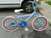 "I have a girls Murray 20"" bicycle for sale, it is in"