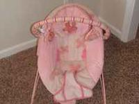 Bright Starts Pretty in Pink Bouncer. In great