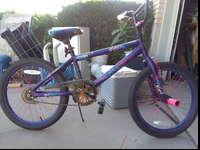 I have a girl stunt bike, in great condition. Asking