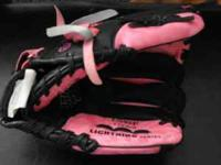 I have a girl Rawlings T-Ball Glove. It is pretty new