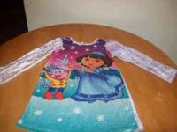 hi i have a dora nighty size 6 3.00 carter pink pj set