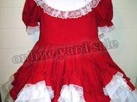 Dolls and Darlings Made in the USA 100% cotton dress