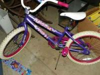 Girls bike in good shape. Child out grew. If interested