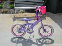 We are selling my daughters Hello Kitty bike in good