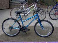 "Girls 17"" Ozone 500 15 speed bicycle. $40.00 Call"