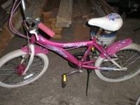 1st bike is a 5 speed 20 inch $45 bike not photoed is