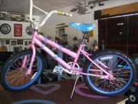 "GIRLS 20"" HUFFY SEASTAR SER# CTL12G03054 WITH REBUILT"
