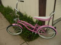 This is not your ordinary bicycle. It is a Girls 20""