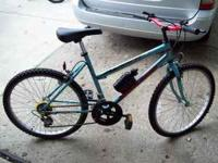 "I have a girls 24"" bike in great condition for sale"