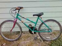 Girls 24 inch 15 speed Huffy bike. Asking $30