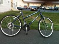 "Girls 26"" bike. 10 speeds. Tires are in great shape!"