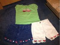 Toddler girls outfit size 3T - Gymboree watermelon