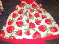 Toddler girls Gymboree sundress strawberry.... Comes
