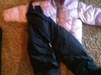 Like New Girls Old Navy 3T Light Puple Puffer Coat,