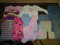 Large lot of girls clothes 4T - 6T Please feel free to