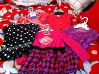 I have a collection of girls clothing mainly size 4T.
