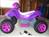 Girls battery powered ATV Bought it for my daughter and