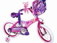 Like new- 1 year old Barbie bike. New paid $80 at Toys