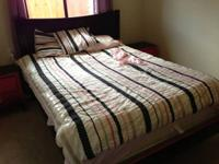 A move forces us to sell this great bedroom set. My