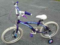 Used girls bike, just as shown in picture. Text or call